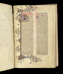 Prologue and Portrait of the Author, in 'Chronicle of Popes and Emperors' by Martin of Troppau